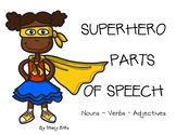 Superhero Parts of Speech