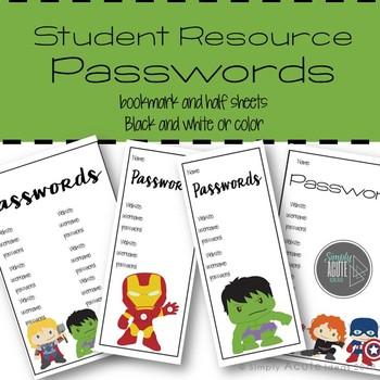 Superhero Password Vol. 2