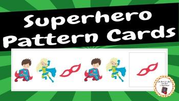 Patterns: Superhero Pattern Cards - set 1
