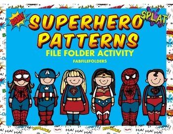 Superhero Patterns