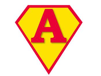 Superhero Pennant Banners