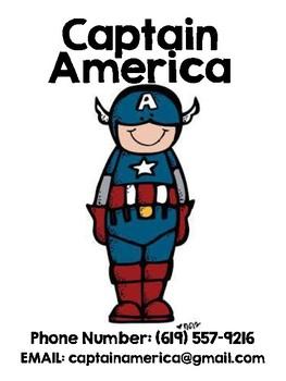 Superhero Phonebook