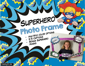 Superhero Photo Frame
