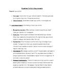 Superhero Portfolio Creative Writing Project and Student E