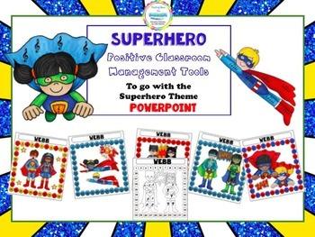 Superhero Positive Classroom Management Tools