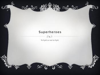 Superhero Powerpoint - Internal Conflict