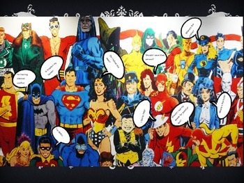 superhero powerpoint internal conflict by teach and learn resources