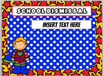 Superhero Powerpoint // Superhero Back to School Powerpoint //Superhero Ppt