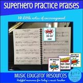 Superhero Practice Praises