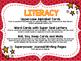 Preschool Literacy and Math Centers {Superhero}