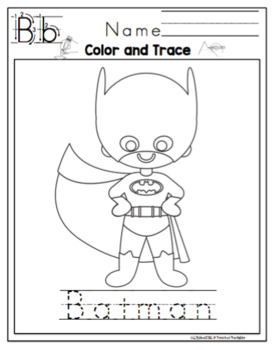 Superhero Printable 2
