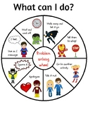 Superhero Problem Solving Wheel
