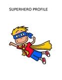 Superhero Profile Prewriting Activity