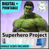 Superhero Project - PBL - Distance Learning