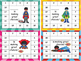 Superhero Punch Cards for For Big Kids (grades 3 - 6)