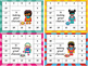 Superhero Punch Cards for PreK - 3