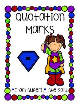 Superhero Punctuation Posters