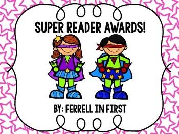 Superhero Reader Awards
