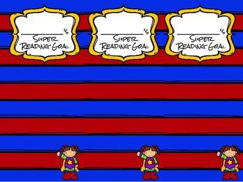 Superhero Reader Bookmark