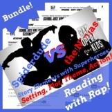Superhero Reading Activities & Comprehension Questions w/