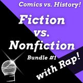 Superhero Reading Activities: Fiction vs Nonfiction Worksh