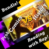 Black Panther Superhero Reading Activities Using History and Parody Rap Songs