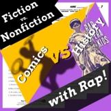 Superhero Themed Fiction vs Nonfiction Worksheets Using Wo