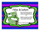 Superhero Reading Goals! - Metas de Lectura en español