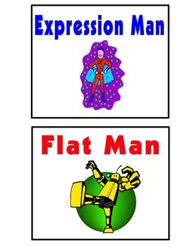 Fluency Fun!  Superhero Reading Intervention Good Guys and