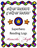 Superhero Reading Logs :: Superhéroe