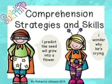 Superhero Reading Strategies and Skills posters