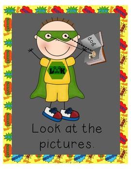 Superhero Reading Strategies Posters