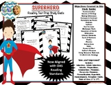 New and Improved Superhero Reading Test Prep Study Guide