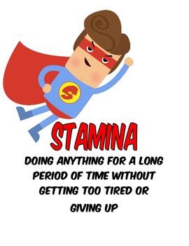Superhero Reading and Writing Stamina