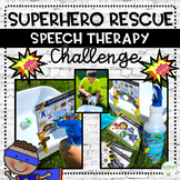 Superhero Rescue Challenge for Speech Therapy