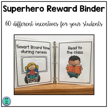 Superhero Reward Binder (Positive Behavior Incentive Program)