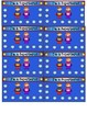 Superhero Reward Punch Cards
