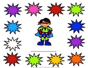 Superhero Reward  Sheets for Any Activity