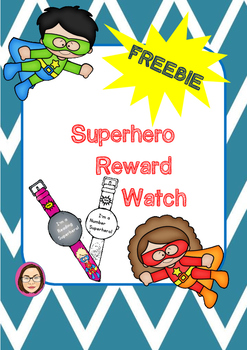 Superhero Reward Watch