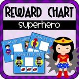 Superhero Rewards Charts (Special Education)