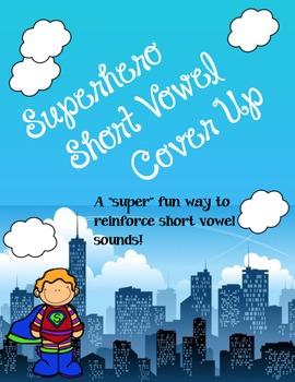Superhero SHORT VOWEL Cover-Up