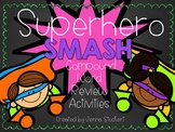Superhero SMASH (Compound Word Review Activities)