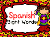 Superhero SPANISH Sight Words