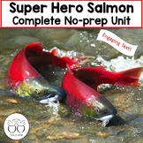 Superhero Salmon! Engaging Text, Activites, Art Project and More!