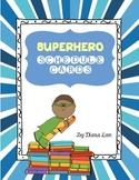 Superhero Schedule Cards - FREE
