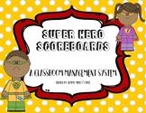 Superhero Scoreboards for Whole Brain Teaching