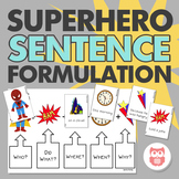 Superhero Sentence Formulation for Speech Therapy