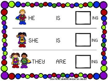 Superhero Sentence Strips