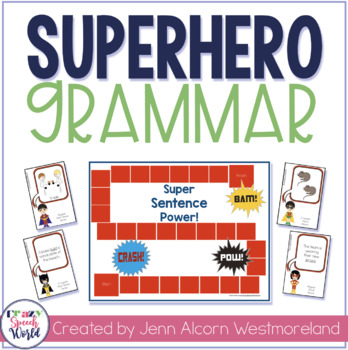 Superhero Sentences: Past Tense & Plurals!