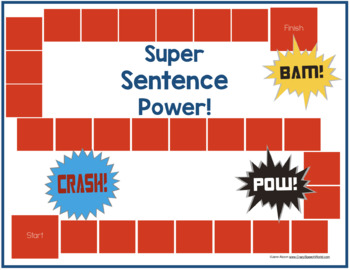 Superhero Grammar for Speech & Language Therapy